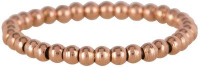 Ring R473 Rosé 'Stretch Shiny Steel Small'
