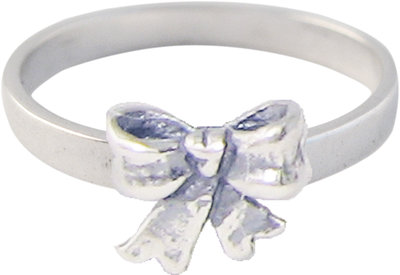 Ring KR35 'Cubic Diamond Bow'