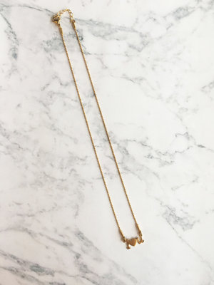 GiveAway Naamketting ILoveYou Gold