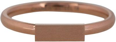 Ring R421 Rosé 'Retangle'  Staffelkorting