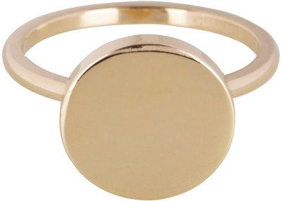 Ring R386 Gold Steel 'Fashion Seal'  Staffelkortingen!