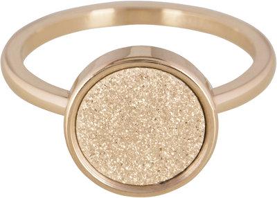 Ring R381 Goud 'Sanded Circkle'