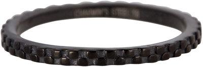 Ring R454 Black 'Pointy Steel'