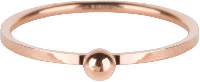 R530 Dot Ring Rose Gold Steel