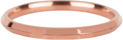 R669 Basic Hooked Rose Gold Steel