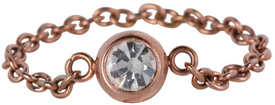 Ring R465 Rosé 'Shiny Devotion'
