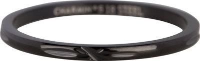 Ring R364 BLACK 'Cross'