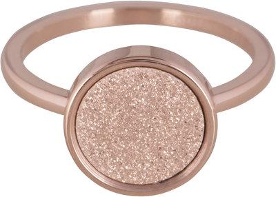 Ring R382 Rosé 'Sanded Circle' Staffelkorting!