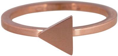 Ring R396 Rosé 'Steel Triangle' Staffelkorting