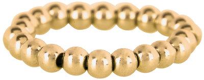 Ring R476 Gold 'Stretch Shiny Medium'