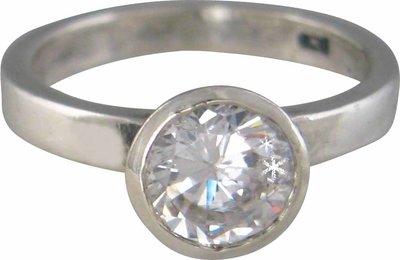 Ring XL02 White 'Round Diamond'