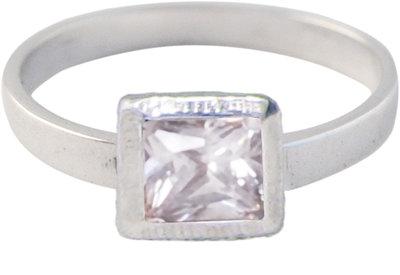 Ring KR25 'Cubic Diamond' White