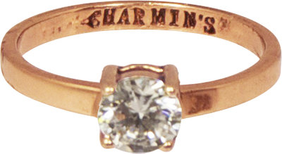 Ring KR52 'Princess Diamond' Rosé