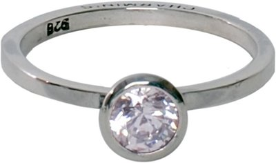 Ring R131 White 'Round Diamond'
