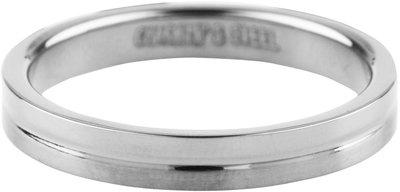 Ring R343 Steel 'Matt and Shiny'