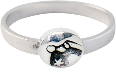 Ring KR40 'Moon And Stars'