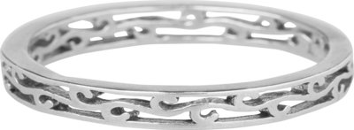 Ring XL84 Steel 'Wave'