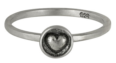 Ring R042 Silver 'Love In A Box'