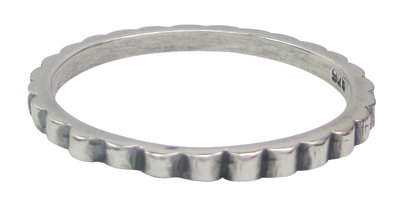 Ring R002 Silver 'Stripes'