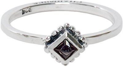 Ring R006 Black 'Diamond Ace'
