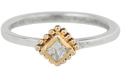 Ring R269 White 'Ace Goldtop'