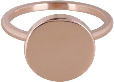 Ring R387 Fashion Seal Rose Steel