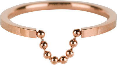 R622 Shackle Rose Gold Steel