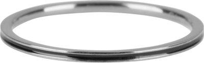 R698 Petite Shiny Steel Black Enamel