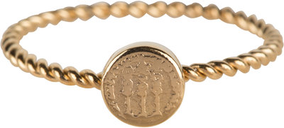 R627 Twisted Gold Steel Historic Coin