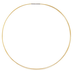 Ketting CPC04 Mat Gold 'Wire Steel' 45CM