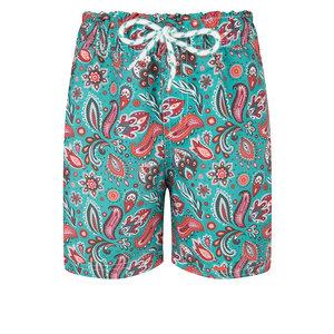 BOHO Shorts Jongens Paisley Sea Green