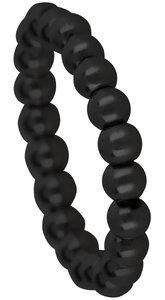 ohr076-zwart-black-staal-ohlala-elastiek-stapelring