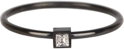 503-charmin's-ring-stylish-square-black-steel