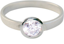 kidz-kinderring-zilver-KR01-ROUND DIAMOND WHITE