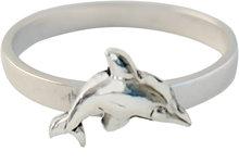KR19-Kidz-Kinderring-Zilver-Dolphin-Dolfijn